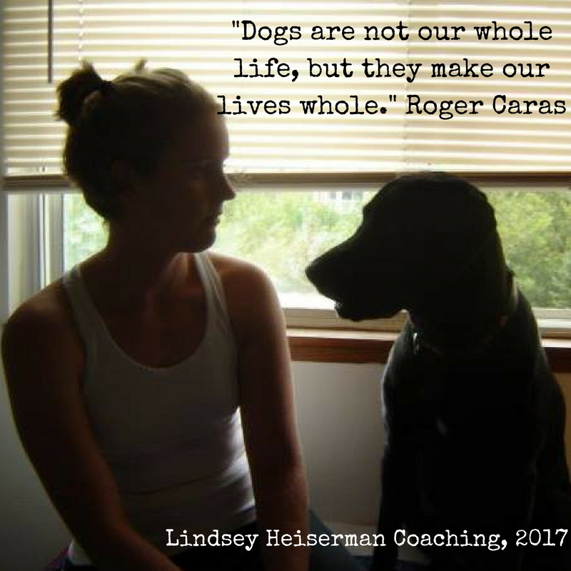 Dogs are not our whole life, but they make our lives whole.- Roger Caras