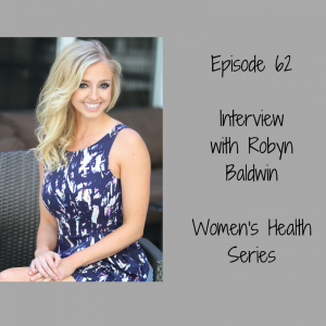 Interview With Robyn Baldwin