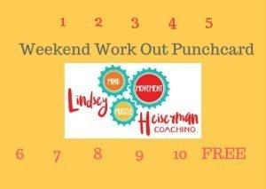 Weekend Work Out Punchcard