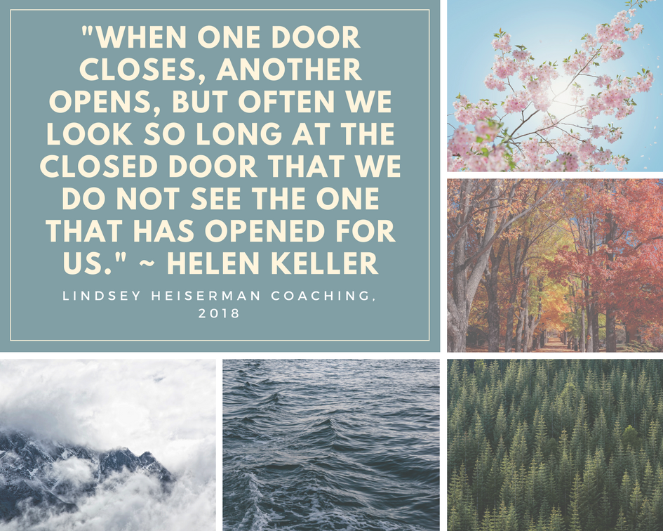 What walking into a shut door taught me about life.