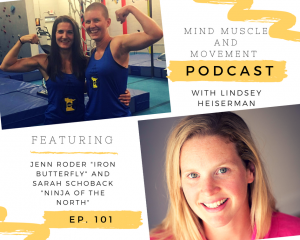 "Interview with Jenn Roder ""Iron Butterfly"" and Sarah Schoback ""Ninja of the North"""