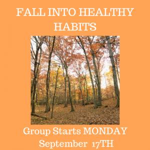 Healthy Habits Group Challenge