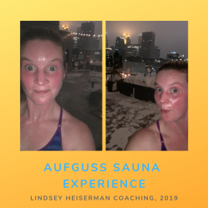 Aufguss sauna experience