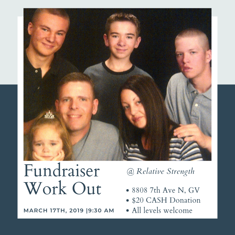 Fundraiser Work Out