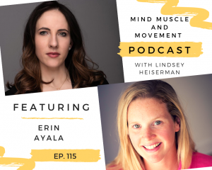 Interview with Erin Ayala. Body image, stoping smoking and 200 mile races.