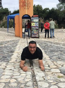 Planking on the equator