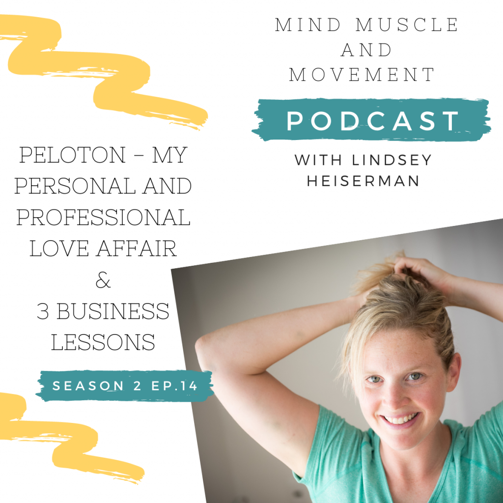 Mind Muscle and Movement Podcast - My Personal and Professional Love Affair with Peloton