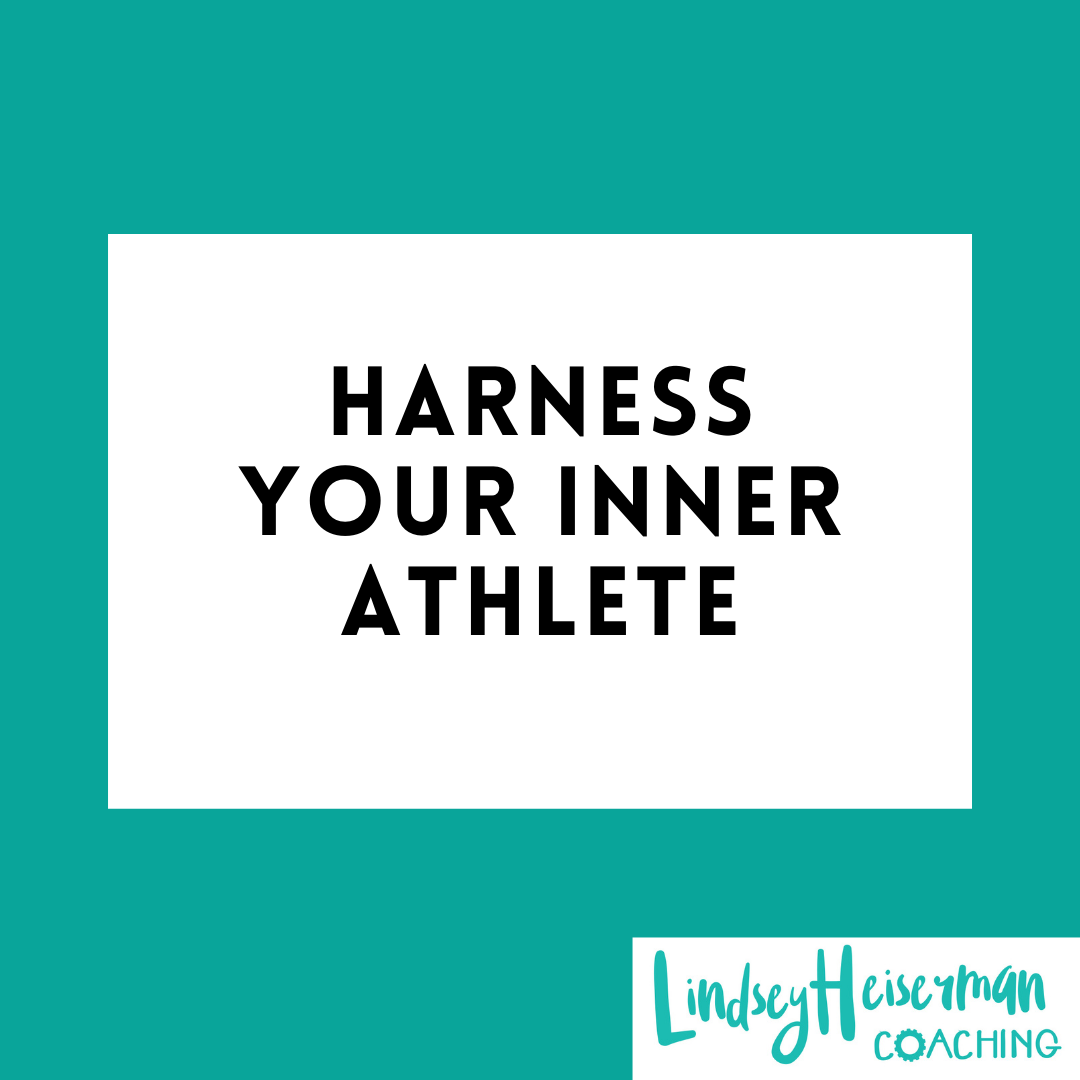 Lindsey Heiserman Coaching and Speaking. Harness Your Inner Athlete
