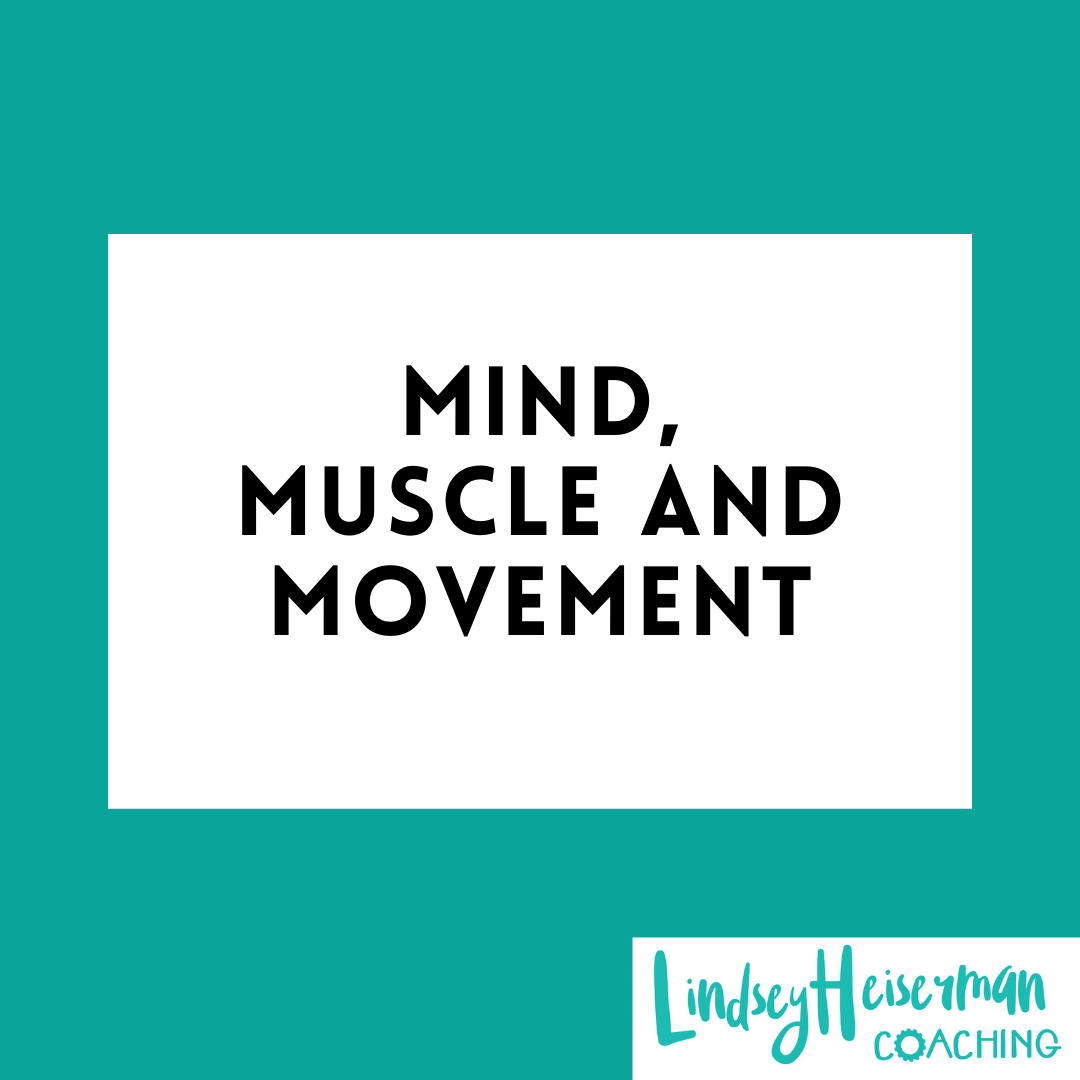 Lindsey Heiserman Coaching and Speaking. Engage your mind, strengthen your muscle and experience movement.